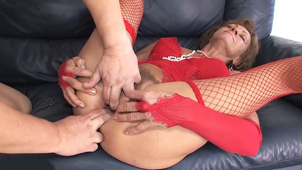 first time anal fuck for 85 years old granny