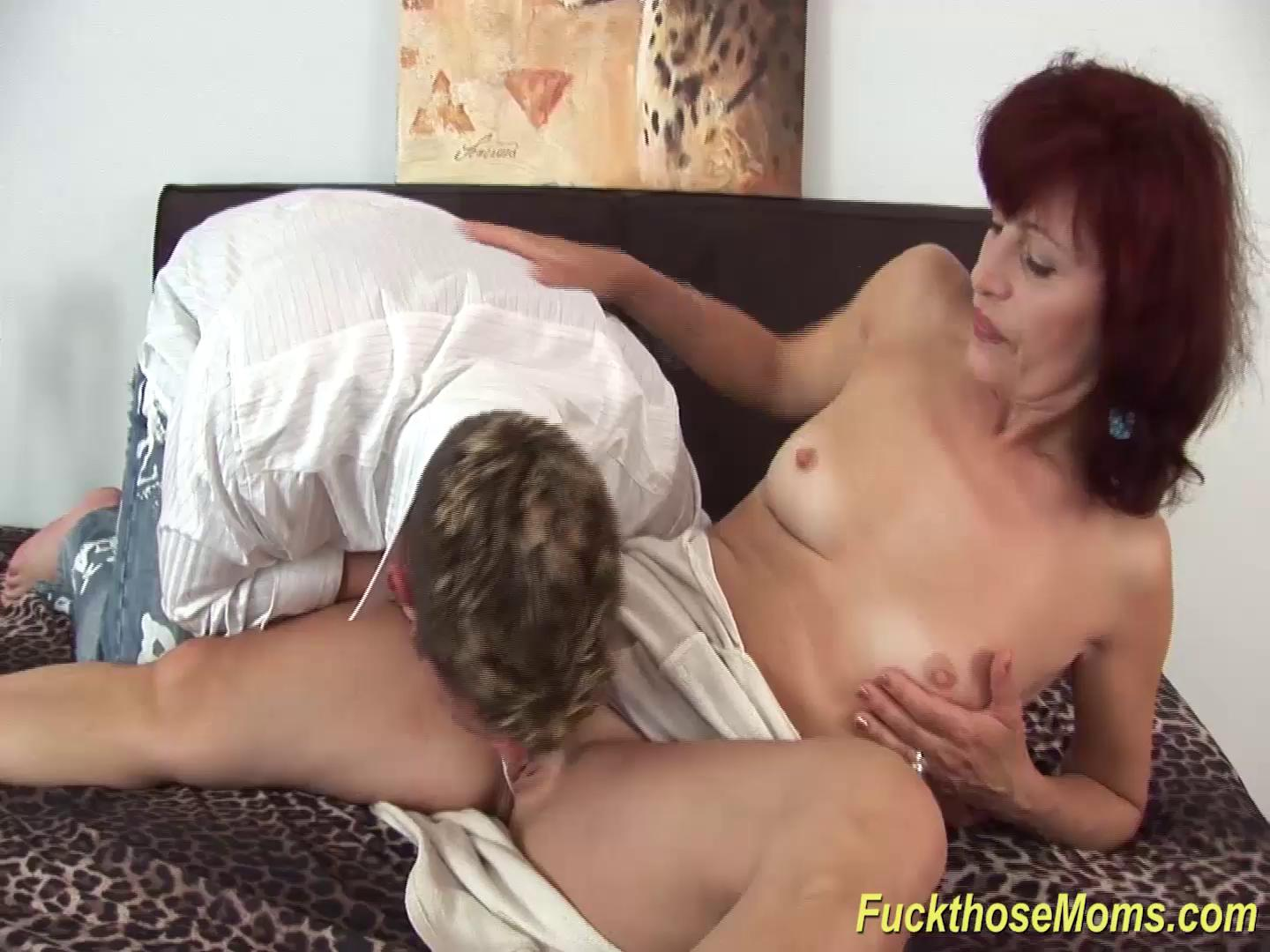 skinny redhead mom rough fucked