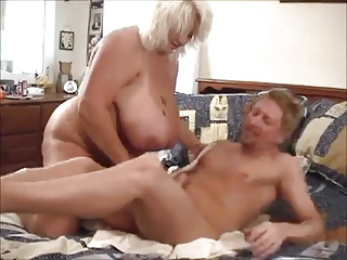 Big Titty BBW Blonde Suck N' Fucked Hard
