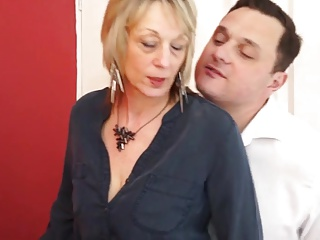 Dirty British Milf Gets Fucked By A Young Stud
