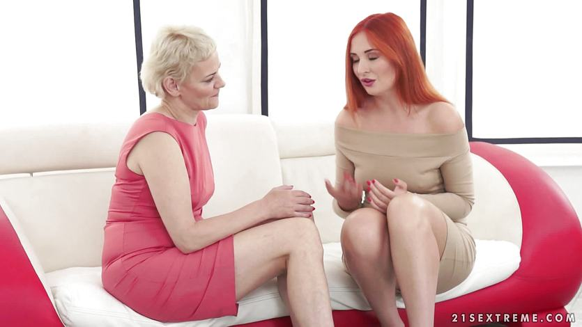 Adultmemberzone busty redhead shakes her ass for cock 10