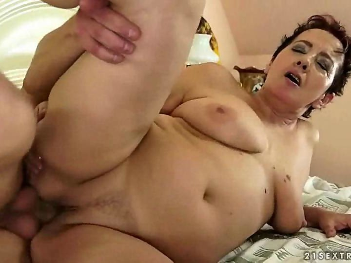 Busty granny enjoys a nasty sex scene with her man on GotPorn (1354108)